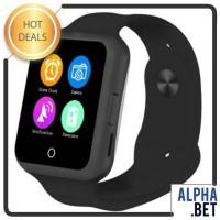 (NEW) Onix Smartwatch No.1 U8 Plus Heart Rate GSM - Black