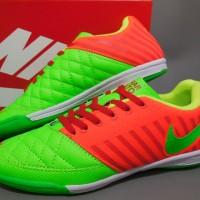 Replika Import..!! Sepatu Futsal Nike Lunar Gato - Green Orange