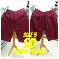 harga Size 5 Sd Celana Pendek Seragam Sekolah Tokopedia.com