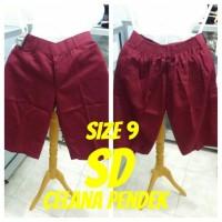 harga Size 9 Sd Celana Pendek Seragam Sekolah Tokopedia.com
