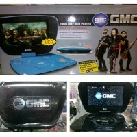 DVD TV PORTABLE GMC 808U Layar 9""