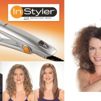 catok instyler 2 in 1 pelurus pengeriting rambut curly hair in styler