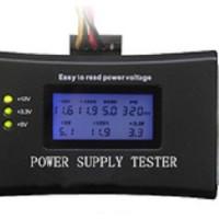 Digital LCD PC Computer PC Power Supply Tester 20/24 Pin 4 SATA HD HDD