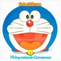 0790 piring melamin doraemon