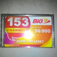 Voucher Fisik Big TV 50ribu