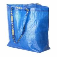 IKEA FRAKTA Kantong Belanja 36L Medium Biru