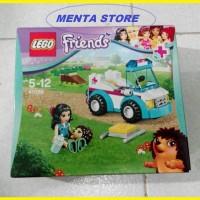 LEGO Friends # 41086 Vet Ambulance Pets Vehicle Series Toy Animals