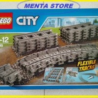 LEGO City # 7499 Flexible and Straight Rail Tracks Series Building Toy
