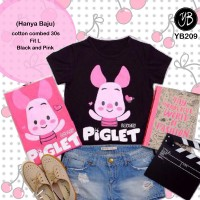 Harga Kaos Tee T   shirt Fashion Kaos Piglet | WIKIPRICE INDONESIA