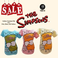 Harga Kaos Tee T  shirt Fashion Kaos Simpsons | WIKIPRICE INDONESIA