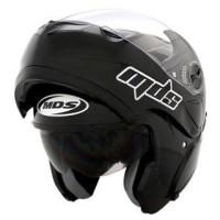 harga Helm Mds Pro Rider Flip Up Half Full Visor Black Prorider Hitam Tokopedia.com