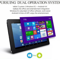 Chuwi Vi10 10.6  Duo OS Tablet Android 4.4 + Wind8.1 32GB Free Stylus