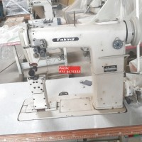 Double Needle Post Bed Sewing Machine / Mesin Jahit Tinggi Jarum 2