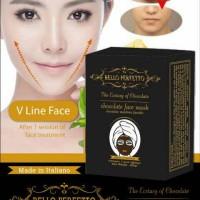 Bello Perfecto Chocolate Face Mask / Masker Coklat untuk Pipi Tirus Hal