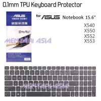 """0.1mm TPU Keyboard Protector for ASUS Notebook 15.6"""" X550"""