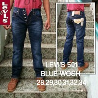 Levis 501 BLUE WASH, Tag Label USA, Jeans Levis 501