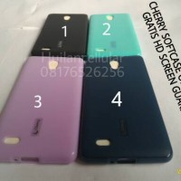 cherry softcase oppo joy 3 gratis hd screen guard