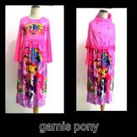 Dress / gamis my little pony