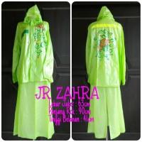 Jual Jas Hujan Rok Wanita / Muslimah - JR ZAHRA - Hijau (only) Murah