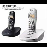 harga Telepon Rumah Panasonic Kx Tg3611 Wireless Tokopedia.com