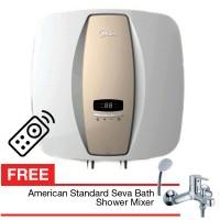 Pemanas air midea D15-02 Eva ada remote free keran american standard
