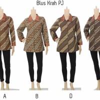 Blouse Batik Model Batik Wanita