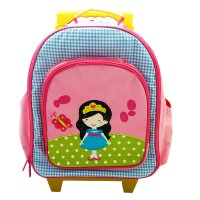 "Tas Trolley Anak ""Princess Amelia"" Gratis Custom Nama by Char & Coll"