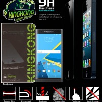 Kingkong Full Tempered Curved Lengkung Curve Glass Blackberry Priv BB