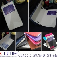Ume Classic View Leather Flip Book Cover Casing Case Infinix Note 2