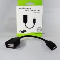 Kabel OTG Micro USB (On-The-Go) / OTG Cable Handphone