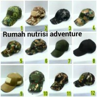 Topi tactical velcro army