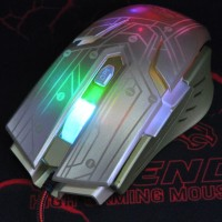 R-HORSE Gaming Mouse FC-1700 with Metal Feet