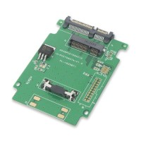MSATA SSD To SATA 22 Pin Adapter Card