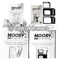 Sim Card Adapter - Noosy Sim Card Adapter 3 in 1 Original Micro & Nano