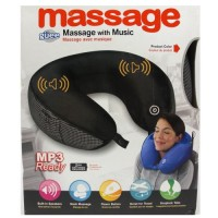 Bantal Pijat Leher plus MP3 ,High Quality Murah - Neck Massage Cushion