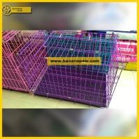harga Kandang Anjing Kucing Lipat 2 pintu L Octagon Tokopedia.com
