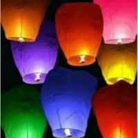 Jual LAMPION TERBANG / SKY LANTERN Murah
