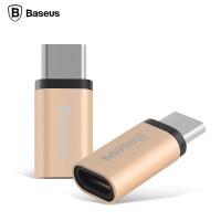 Baseus Rui Series Micro USB To USB 3.1 Type C Adapter Converter Gold