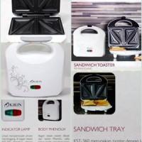 Kirin Pemanggang (Toaster) Sandwich / Roti KST-360