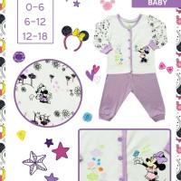 Original Branded Baju Tidur Disney Minnie Mouse Baby/ Sleepsuit/piyama