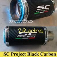 Knalpot SC Project Black Carbon