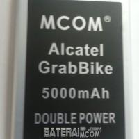 Baterai Battery Double Power Alcatel One Touch 7040d Grabbike 5000mah