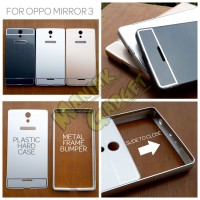 Jual Hard Case Metal Slide Oppo Mirror 3 Murah