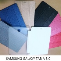 Samsung Galaxy Tab A 8.0 Inch T350 Flip Book Cover Casing Case Sarung