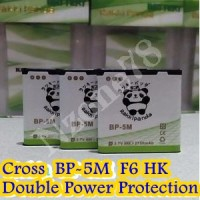Baterai Cross Evercoss F6 Hk Bp5m Rakkipanda Double Power