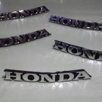 harga Emblem Simbol Logo HONDA untuk Karisma, Vario Old, Motor lainnya Tokopedia.com