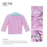 CIRCO LONG SLEEVE GIRLS TEE / Atasan Kaos Anak Lengan Panjang Branded