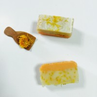 Calendula Honey Soap, Sabun Calendula Madu, Sabun Handmade,