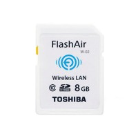 Toshiba Flash Air Wireless SD Card Speed Class 10 8GB