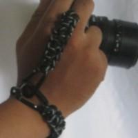 harga hand strap wrist tali kamera paracord generasi ke-2 carabiner/cantelan Tokopedia.com